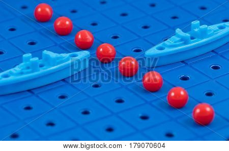 Protection Of Maritime Borders Toy Military Ships