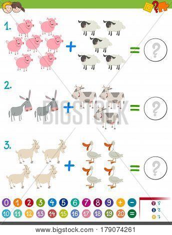 Addition Maths Activity For Children