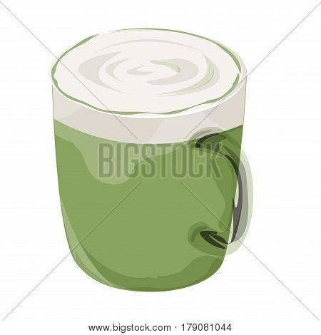 Green Tea latte ,Green Tea macha latte , green tea