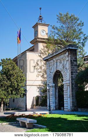 Consolat De Mar Clock Tower