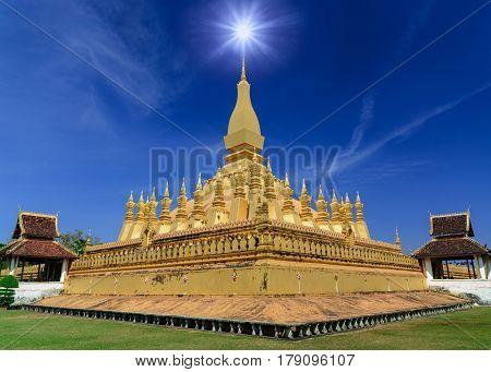 Pha That Luang Vientiane .