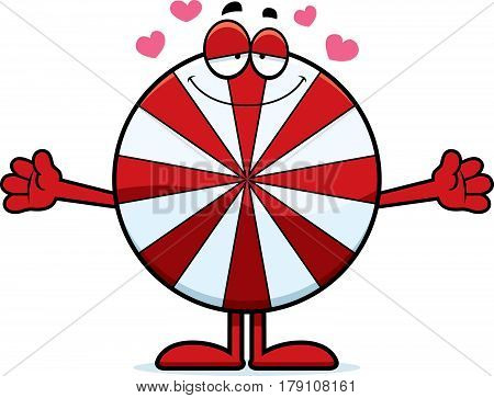 Cartoon Peppermint Hug