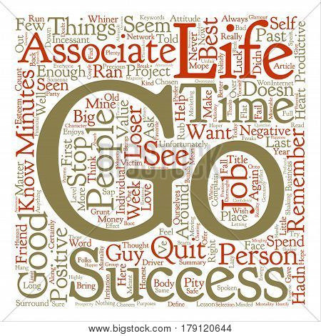 The Value Of Associations text background word cloud concept