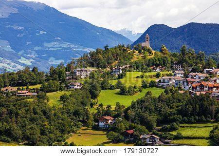 Fie allo Sciliar - Small cute town in Trentino-Alto Adige (Sudtirol) Italy
