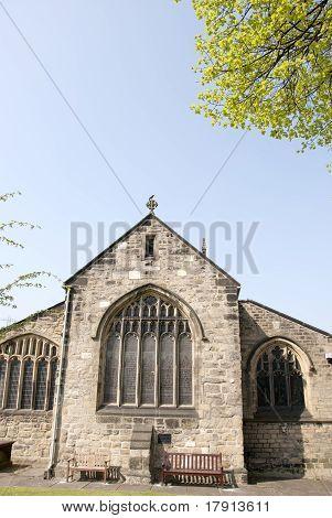 Detail On A Church