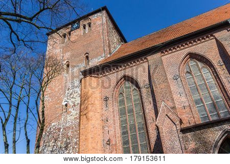 Wilhadi Church In The Hanseatic City Of Stade