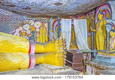 The Legs Of Buddha