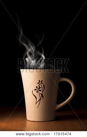 Cup Of Hot Tea Or Coffee