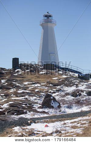 Lighthouse At Cape Spear, Newfoundland And Labrador