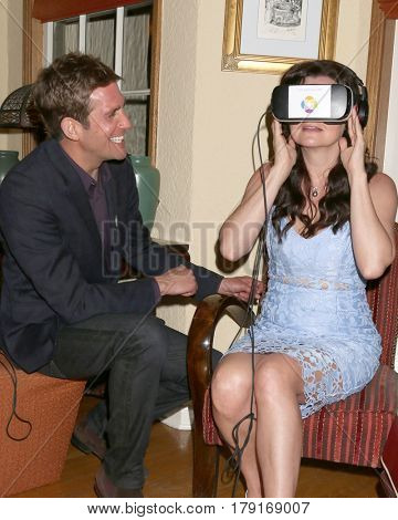 LOS ANGELES - MAR 25:  Eric Szmanda, Heather Tom at the Night of Cocktail and Virtual Reality benefiting The Nexus Fund at Private Residence on March 25, 2017 in Glendale, CA
