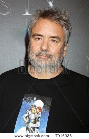 LOS ANGELES - MAR 28:  Luc Besson at the STX CinemaCon Photocall at the Caesars Palace on March 28, 2017 in Las Vegas, CA