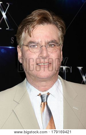 LOS ANGELES - MAR 28:  Aaron Sorkin at the STX CinemaCon Photocall at the Caesars Palace on March 28, 2017 in Las Vegas, CA