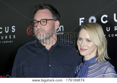 LAS VEGAS - MAR 29:  Colin Trevorrow, Naomi Watts at the Focus Features CinemaCon Photocall at the Caesars Palace on March 29, 2017 in Las Vegas, NV