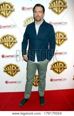 LAS VEGAS - MAR 29:  Ed Helms at the Warner Bros CinemaCon Photocall at the Caesars Palace on March 29, 2017 in Las Vegas, NV