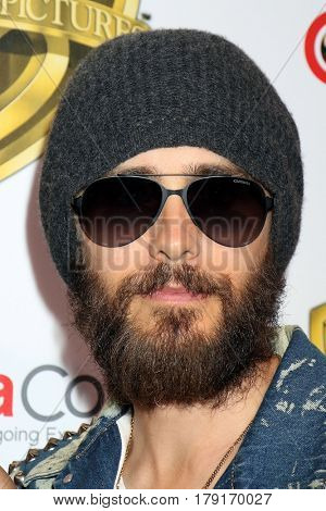 LAS VEGAS - MAR 29:  Jared Leto at the Warner Bros CinemaCon Photocall at the Caesars Palace on March 29, 2017 in Las Vegas, NV