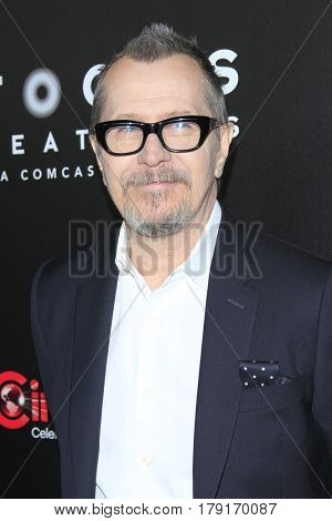 LAS VEGAS - MAR 29:  Gary Oldman at the Focus Features CinemaCon Photocall at the Caesars Palace on March 29, 2017 in Las Vegas, NV