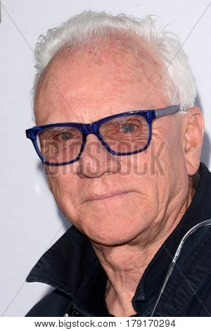 LOS ANGELES - MAR 29:  Malcolm McDowell at the Premiere Of Netflix's