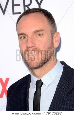 LOS ANGELES - MAR 29:  Charlie McDowell at the Premiere Of Netflix's