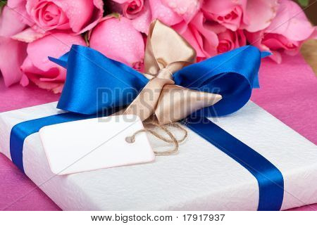 Romantic Valentine Present With Note