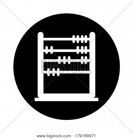 abacus education isolated icon vector illustration design