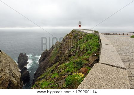 Cape Ortegal Lighthouse (spain).