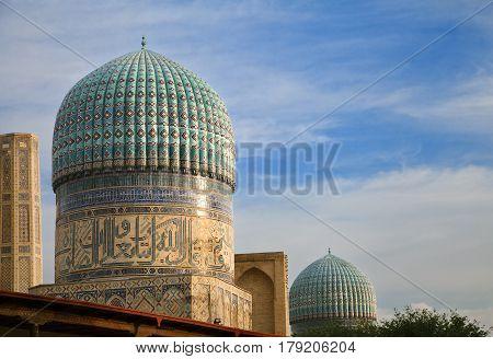Bibi-Khanym mosque, Samarkand, Uzbekistan - UNESCO World Heritage