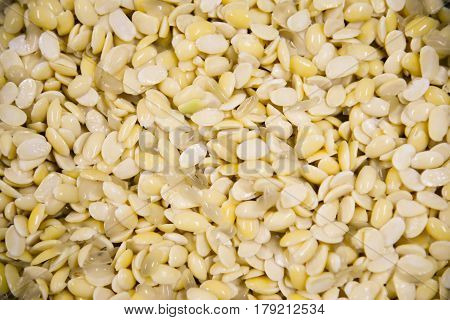 Soy bean texture .Healthy food and diet concept