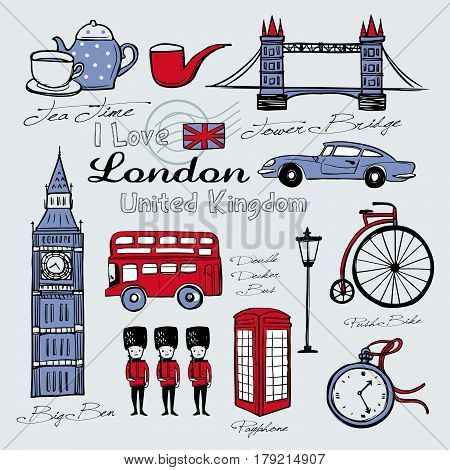 United Kingdom Famous Things And Landscapes