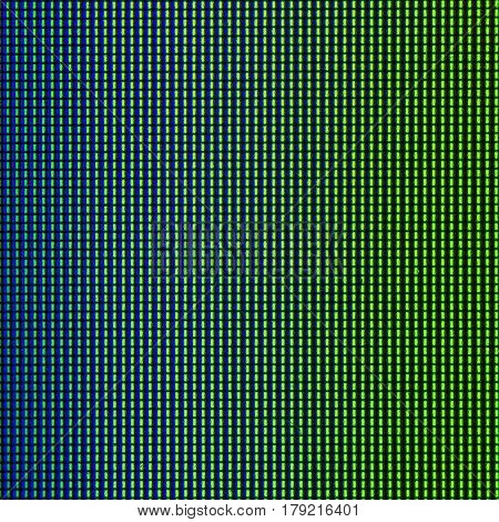 Closeup LED diode from LED TV, LED monitor screen display panel for background and design with copy space for text or image.