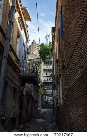 View Of Tbilisi Old Town Sololaki