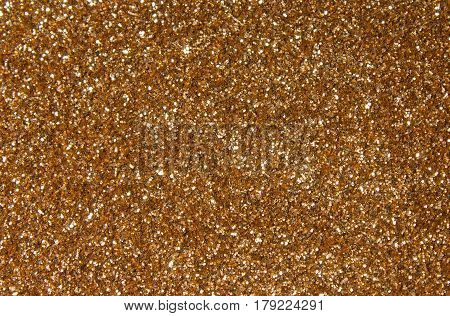 Sparkling, metallic, golden, sequined textile for disco, party or fashion designs