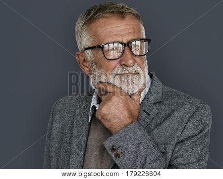 Man Confidence Self Esteem Portrait Concept