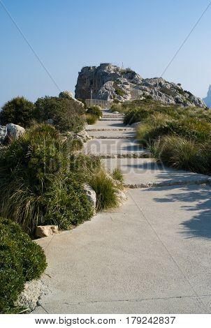 Cap Formentor on Mallorca island