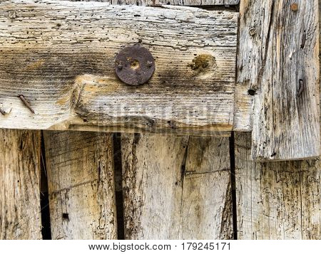 old wooden wall, background
