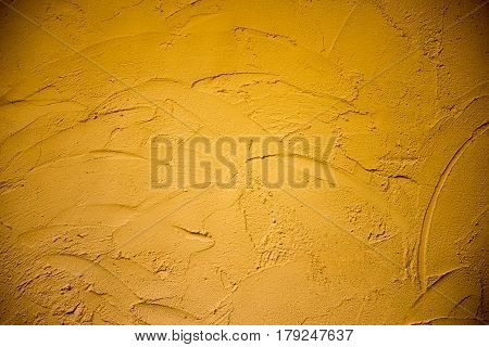 The clay wall texture background in retro style