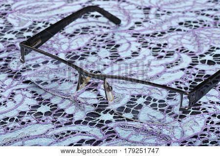 Glasses And Lace