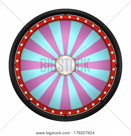 Wheel Fortune Twenty Four Black Round