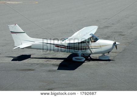 Plane Sitting On The Tarmac