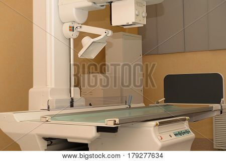 Modern x-ray apparatus is the basis of diagnosis in the clinic.
