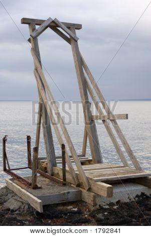 Boat Hoist.