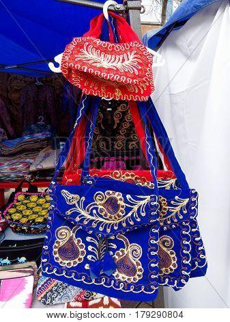 Almaty - Kazakh Ethnic Handbags