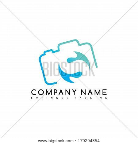 camera photography brand company template logo logotype vector art