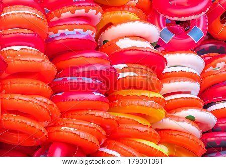 lifebuoy texture red lifebelt orange saving people background