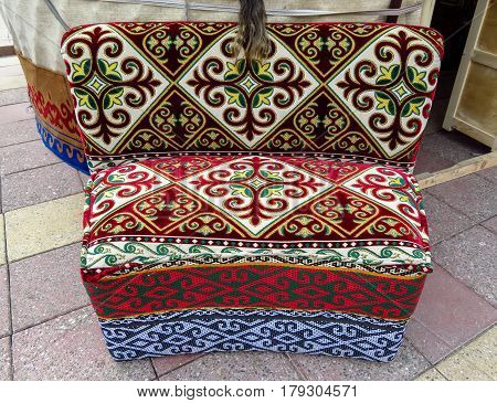 Almaty - Kazakh Ethnic Sofa