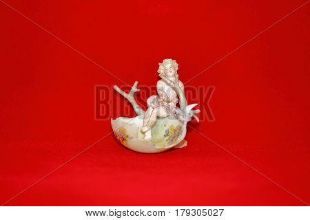 Angel In The Easter Egg Shell