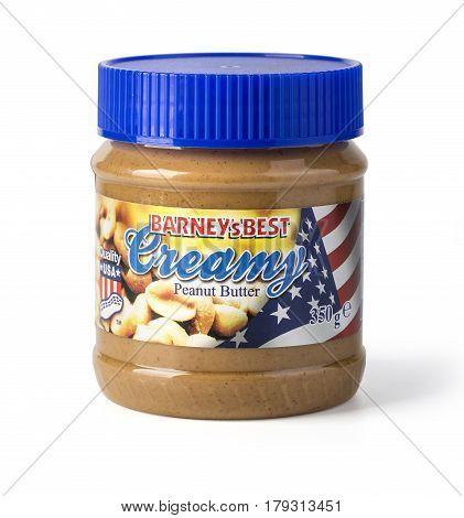 Creamy Peanut Butte