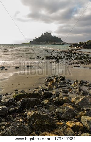 St. Michaels Mount From Marazion