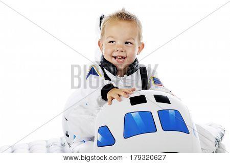 An adorable toddler