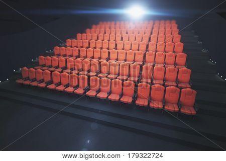 Red Cinema Seats