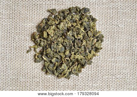 different types of loose teas, black, red, green poster
